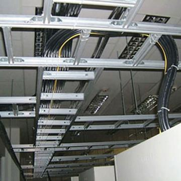 Lắp đặt thang máng cáp nhà xưởng