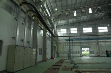 Lắp đặt thang cáp nhà máy